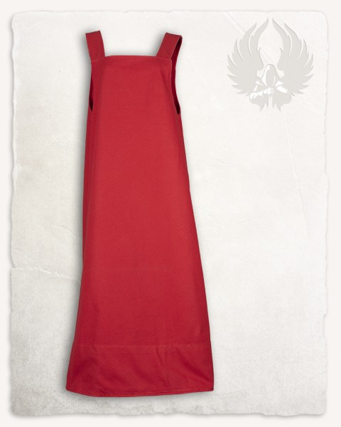 Lientje apron dress red