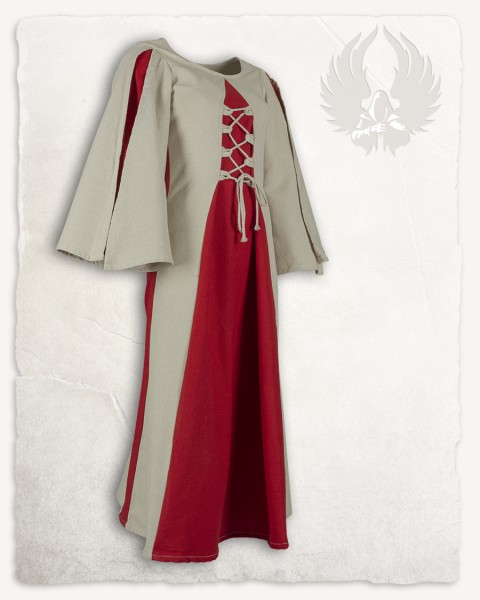 Kirian girls`dress cream/red 168