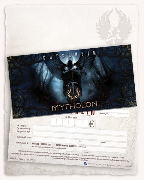 50,00 Euro Voucher for Mytholon
