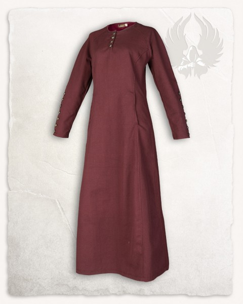 Jovina dress canvas bordeaux
