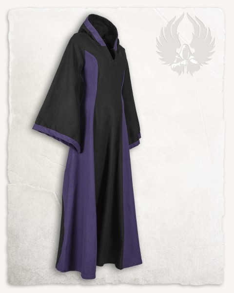 Iris dress canvas black/purple Limited Edition