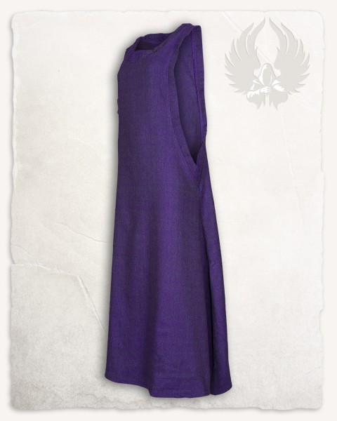 Juliana dress herringbone purple Limited Edition