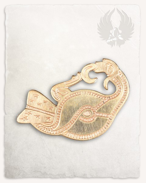 Bird of prey brooch