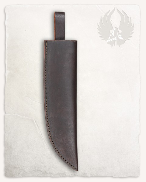 Anselm chef's knife leather sheath brown